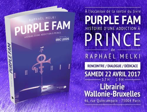 Vidéo : Rencontre et dédicace le 22 avril à Paris – Librairie Wallonie- Bruxelles